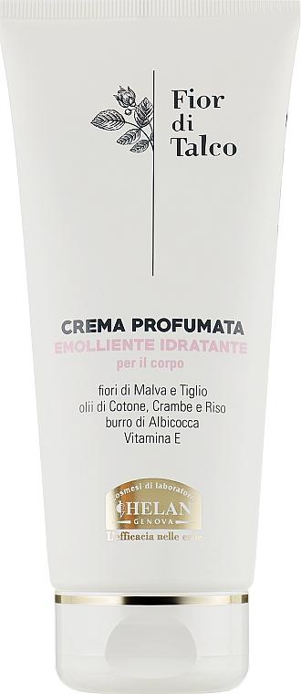Крем для тела ароматизированный - Helan Fior Di Talco Scented Cream Emollient Moisturizing