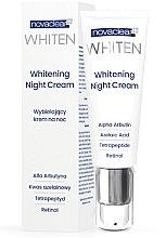 Духи, Парфюмерия, косметика Ночной крем для лица - Novaclear Whiten Whitening Night Cream