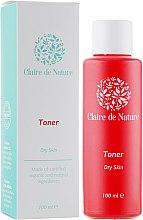 Духи, Парфюмерия, косметика Тоник для лица для сухой кожи - Claire de Nature Toner For Dry Skin