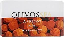 "Духи, Парфюмерия, косметика Натуральное оливковое мыло ""Абрикос"" - Olivos Spa Series Apricot"