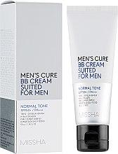 Духи, Парфюмерия, косметика ВВ крем для мужской кожи - Missha Men's Cure BB Cream Suited For Men
