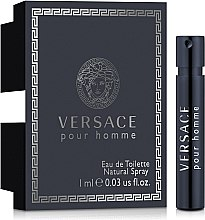Духи, Парфюмерия, косметика Versace Pour Homme - Туалетная вода (пробник)