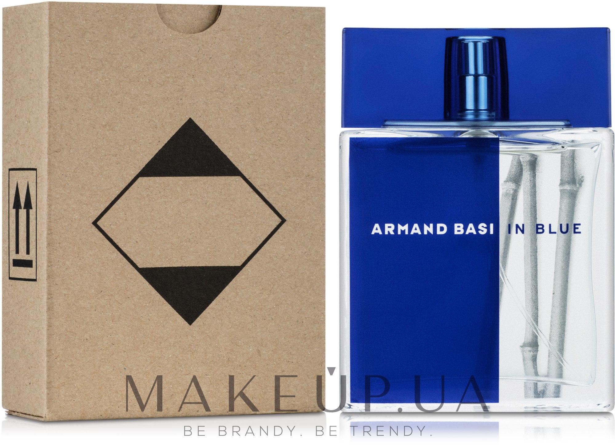 Armand Basi In Blue - Туалетная вода (тестер с крышечкой) — фото 100ml