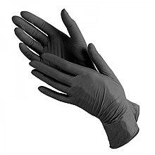 Духи, Парфюмерия, косметика Перчатки нитриловые, без пудры, черные, размер M - Prestige Medical