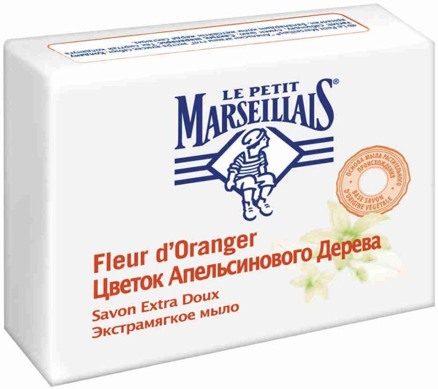 Экстрамягкое мыло «Цветок апельсинового дерева» - Le Petit Marseillais Savon Extra Doux Fleur d'Oranger