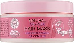 Духи, Парфюмерия, косметика Маска для окрашенных волос Oil-plex - Natura Siberica Natural Oil-Plex Hair Mask Limonnik Nanai & Oil Complex