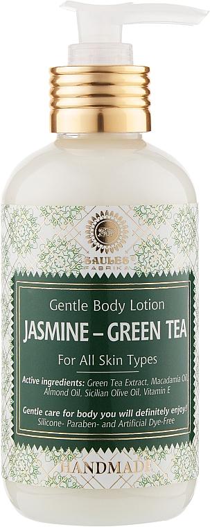 "Лосьон для тела ""Жасмин и зеленый чай"" - Saules Fabrika Body Lotion"