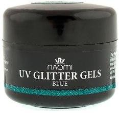Духи, Парфюмерия, косметика Моделирующий гель - Naomi UV Glitter Gel