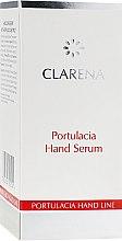 Сиворотка для шкіри рук з екстрактом портулаку - Clarena Sensual Hand Line Portulacia Hand Serum — фото N3