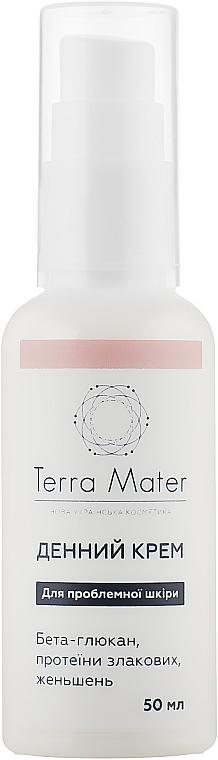 Дневной увлажняющий крем для лица - Terra Mater Moisturizing Face Cream