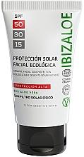 Духи, Парфюмерия, косметика Солнцезащитный крем - Ibizaloe Organic Sun Protection SPF 50