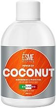 Духи, Парфюмерия, косметика Шампунь для сухих и ломких волос с маслом кокоса - Esme Platinum Shampoo