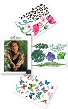 Духи, Парфюмерия, косметика Флеш-тату цветные переводные - Miami Tattoos Jungle