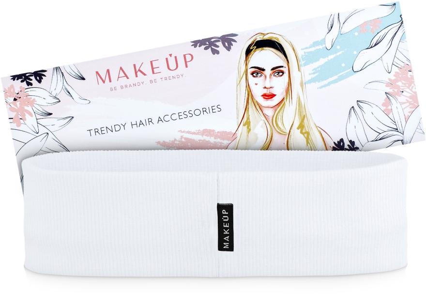 "Повязка на голову, белая ""Be Beauty"" - Makeup"