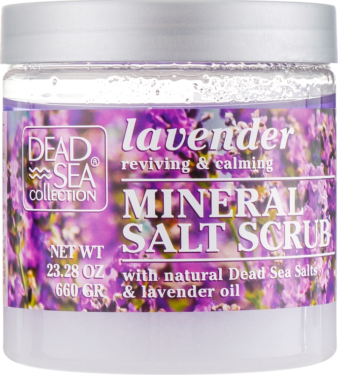 Скраб для тела с минералами Мертвого моря и маслом лаванды - Dead Sea Collection Coconut Salt Scrub
