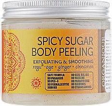 Духи, Парфюмерия, косметика РАСПРОДАЖА Восточный сахарный пилинг для тела - Organique Spicy Sugar Body Peeling *