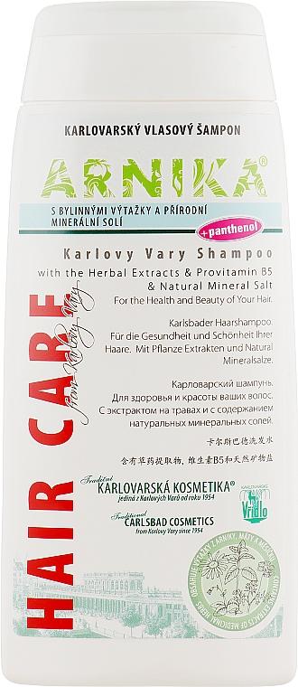 Шампунь для волос с травяными экстрактами и пантенолом - Vridlo Arnika