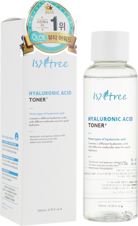 Увлажняющий тонер с гиалуроновой кислотой - IsNtree Hyaluronic Acid Toner