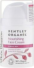 Духи, Парфюмерия, косметика Питательный крем для нормальной кожи - Bentley Organic Skin Blossom Nourishing Face Cream