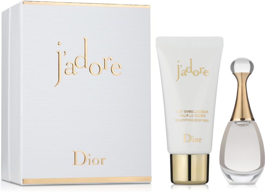 Dior Jadore - Набор (edp/5ml + b/milk/20ml)