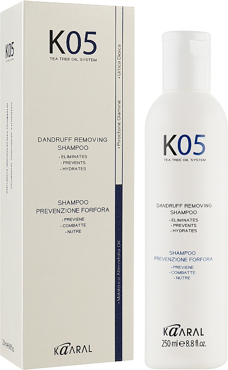 Шампунь против перхоти - Kaaral К05 Dandruff Removing Shampoo