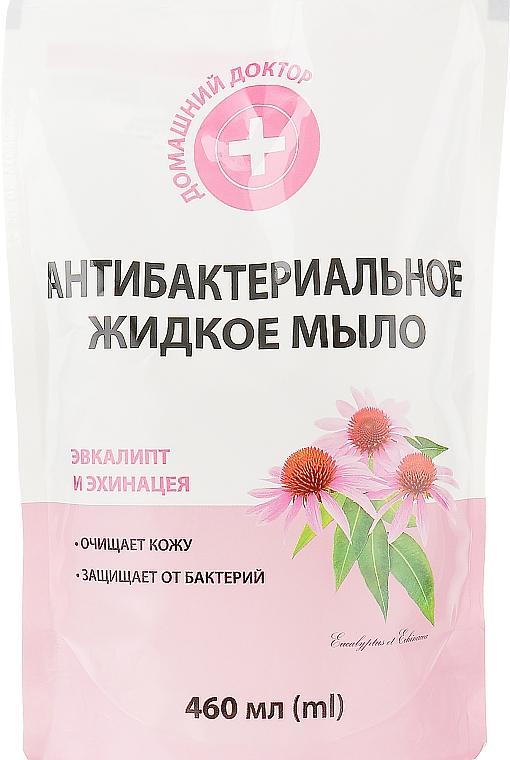 """Антибактериальное мыло """"Эвкалипт и эхинацея"""" - Домашний Доктор (дой-пак)"""