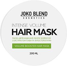 Духи, Парфюмерия, косметика Маска для придания объёма - Joko Blend Intense Volume Hair Mask