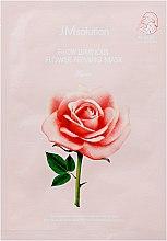 Духи, Парфюмерия, косметика Тканевая маска с экстрактом дамасской розы - Glow Luminous Flower Firming Mask