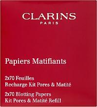 Духи, Парфюмерия, косметика Салфетки матирующие - Clarins Pore Perfecting Blotting Paper Refills