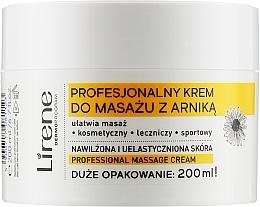 "Духи, Парфюмерия, косметика Крем для массажа ""Арника"" - Lirene Professional Massage Cream"
