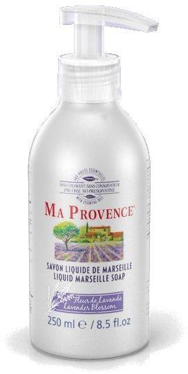 """Жидкое Марсельское мыло """"Лаванда"""" - Ma Provence Liquid Marseille Soap lavender"""