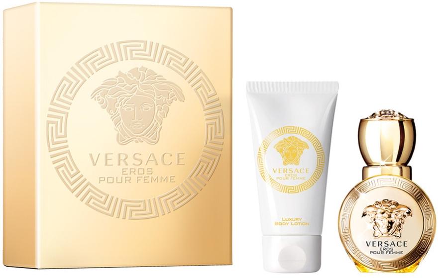 Versace Eros Pour Femme - Набор (edp/30ml + b/lot/50ml)