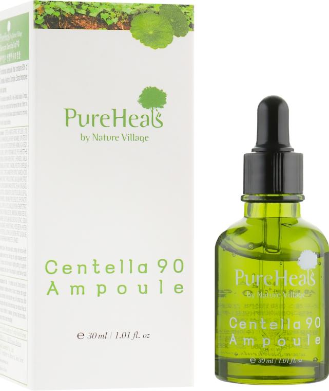 Восстанавливающая сыворотка с экстрактом центеллы - PureHeal's Centella 90 Ampoule