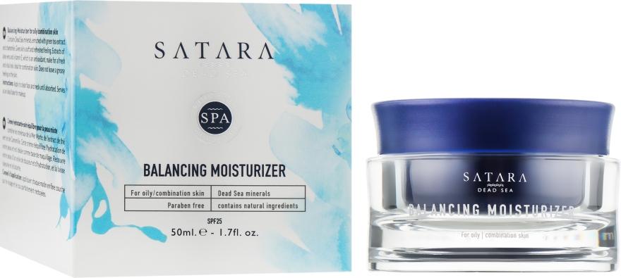 Увлажняющий крем для жирной и комбинированной кожи - Satara Dead Sea Balancing Moisturizer For Oily & Combination Skin