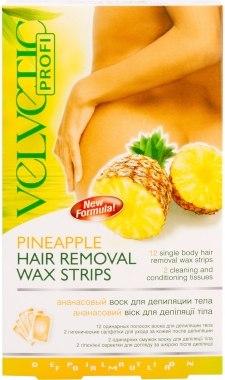 """Воск для депиляции тела """"Ананасовый"""" - Velvetic Body Hair Removal Wax"""