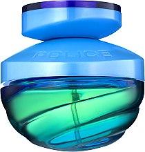 Духи, Парфюмерия, косметика Police Blue Desire - Туалетная вода (тестер с крышечкой)