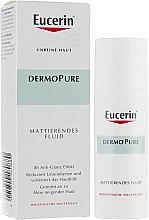 Парфумерія, косметика Флюїд матувальний для проблемної шкіри - Eucerin DermoPure Mattifing Fluid