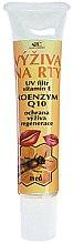 Парфумерія, косметика Бальзам для губ - Bione Cosmetics Honey + Q10 Nourishment With Vitamins E, A And D Lip