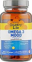 """Духи, Парфюмерия, косметика Омега 3 """"Настроение"""", 1000 мг - Country Life Omega 3 Mood"""