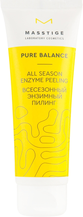 Всесезонный энзимный пилинг - Masstige Pure Balance All Season Enzyme Peeling