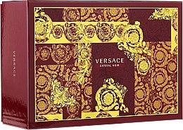 Духи, Парфюмерия, косметика Versace Crystal Noir - Набор (edt/90ml + edt/10ml + pounch)