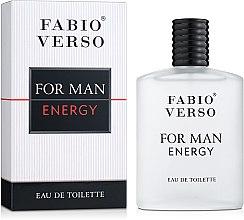 Духи, Парфюмерия, косметика Bi-Es Fabio Verso For Man Energy - Туалетная вода