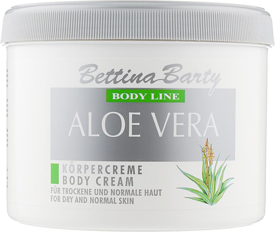 "Крем для тела ""Алоэ вера"" - Bettina Barty Aloe Vera Body Cream"