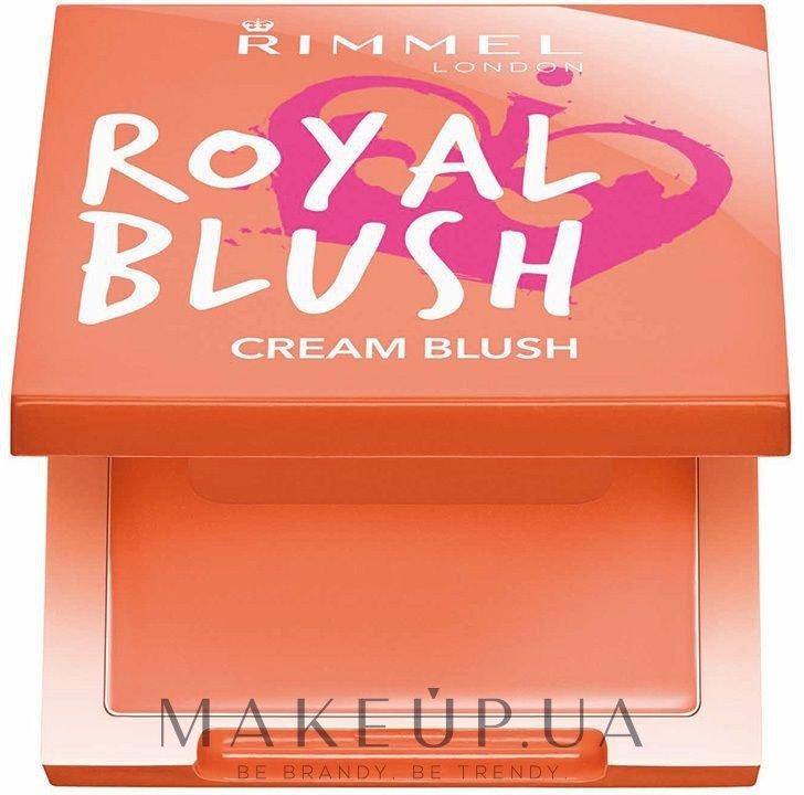 Кремовые румяна - Rimmel Royal Blush Cream Blush — фото 001 - Peach Jewel