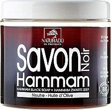 Духи, Парфюмерия, косметика Черное мыло с маслом оливы - Naturado Black Soap Hammam With Olive Oil