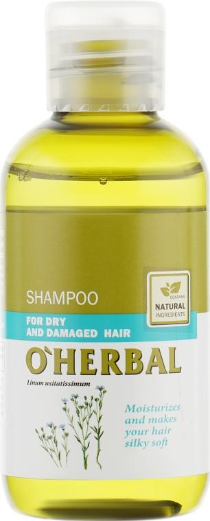 """Шампунь для сухих волос """"Мягкость и шелковистость"""" - O'Herbal"""