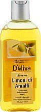 Шампунь для укрепления ослабленных волос - D'oliva Pharmatheiss Cosmetics Limoni di Amalfi — фото N1