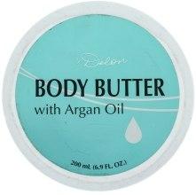 Духи, Парфюмерия, косметика Масло для тела с аргановым маслом - Delon Laboratories Body Butter With Argan Oil