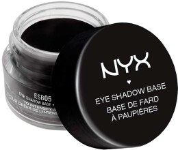Парфумерія, косметика База під тіні чорна - NYX Professional Makeup Eyeshadow Base Black