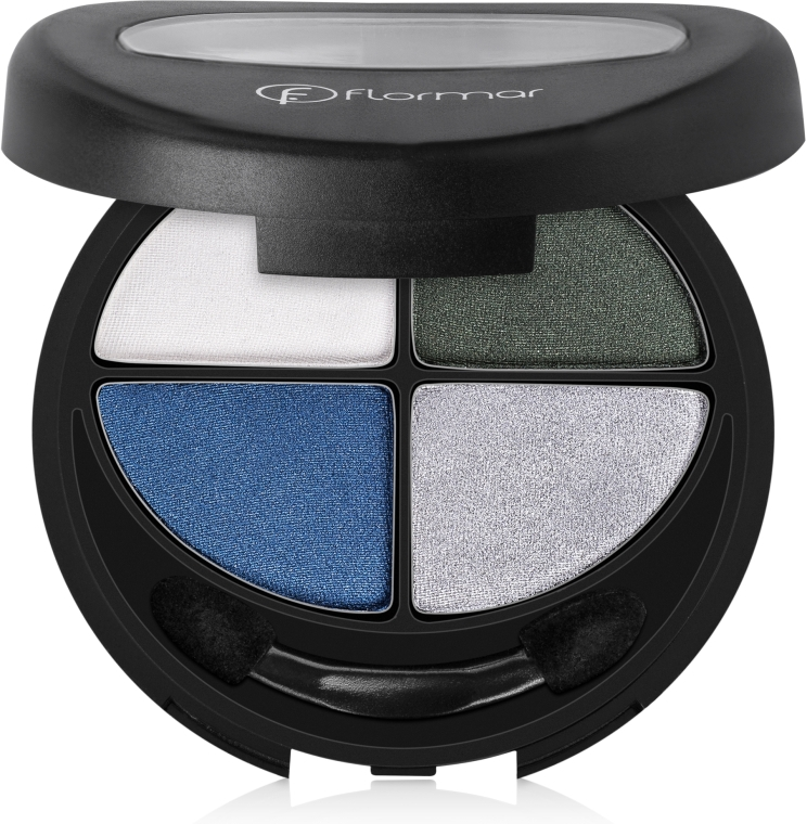 Тени для век - Flormar Compact Quartet Eye Shadow